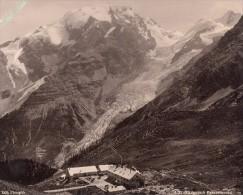 Italy Alpe Mountain Stillserjoch Franzen Old Photo 1890 - Photographs