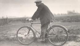 France Saint Amand Man Bicycle Study Old Snapshot 1936 - Photographs