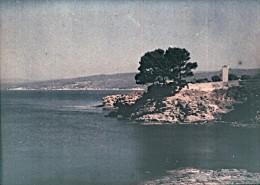 Provence Golfe De La Napoule Autochrome Photo 1925 - Glasplaten