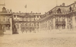 Versailles Le Château La Cour De Marbre France Photographie 1890 - Photographs