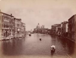 Venezia Grande Canale Animated Italy Old Photo 1880 - Photographs