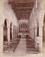 Firenze Cattedrale Fiesole Italy Old Brogi Photo 1880 - Photographs