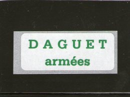 """Vignette """"DAGUET Armées"""" - FM 13a - Franchise Stamps"""
