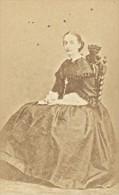 Countess Of Paris Marie Isabelle CDV Franck Photo 1870 - Photographs