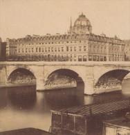Tribunal De Commerce Paris France Ancienne Photo Stereo 1870
