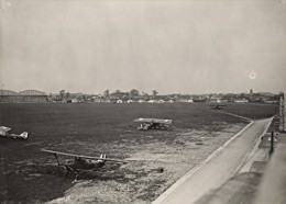 Fete Militaire Du 34 RA Le Bourget Aeroport Ancienne Photographie Juillet 1929 - Aviation
