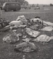 Maroc Casablanca Accident Avion Douglas Ancienne Photo Octobre 1950 - Aviation