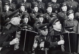 Orchestre Chorale Militaire France Ancienne Photo Pic 1960 - Photos