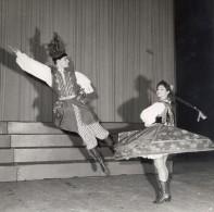 Ballet Polonais Danse Folklore France Ancienne Photo Lipnitzki 1960 - Non Classés