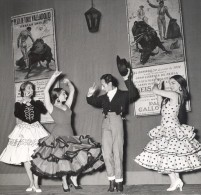 Espagne Ballet Flamenco Danse Folklore France Ancienne Photo Lipnitzki 1960 - Photographs