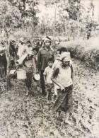 Guerre Conflit Vietnamo Cambodgien Refugies Ancienne Photo 1979 - Oorlog, Militair