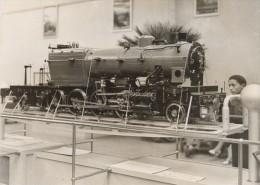 Paris Exposition Coloniale Locomotives GRCFF Ancienne Photo 1931 - Photographs