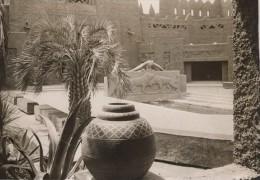 Paris Exposition Coloniale Cour Du Pavillon De L' AOF Ancienne Photo 1931 - Non Classés