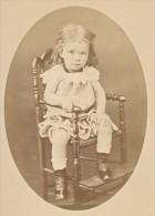 Bambin Costume Mode Francaise Paris Ancienne Photo CDV 1865 - Photographs