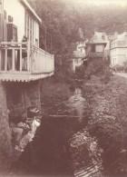 Bagnoles De L'Orne Laveuses Scene Vie Quotidienne Ancienne Photographie Instantanée Amateur 1900 - Photographs