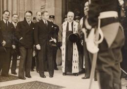 Paris Ministre De La Justice Paul Reynaud France Ancienne Photo Presse 1938 - Photographs