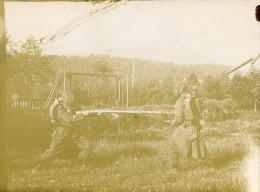 Entrainement Militaire Combat Baionnette Au Fusil France Ancienne Photo 1900 - Oorlog, Militair