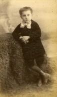 Enfant Costume Mode Douai France Ancienne Photo CDV Carette 1870 - Unclassified