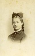 Femme Costume Mode Rouen France Ancienne Photo CDV Witz 1870 - Unclassified