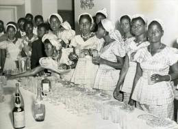 Senegal Dakar Réception Des Troupes Théâtrales Finalistes Cote D Ivoire & Niger Ancienne Photo 1956 - Ethnics
