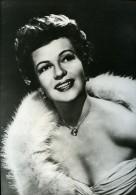 Portrait Actrice Americaine Rita Hayworth Cinema Ancienne Photo Presse 1980 - Unclassified