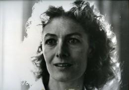 Portrait De L Actrice Anglaise Vanessa Redgrave Cinema Ancienne Photo Presse 1980 - Unclassified