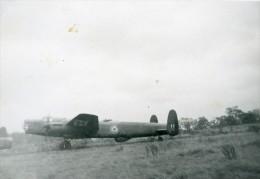 Ecole De Pilotage De Kenilworth Angleterre Avion Avro Lincoln Photo Amateur 1949 - Aviation