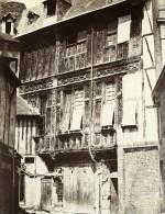 Rouen Restes De L Abbaye Saint Amand France Ancienne Photo Bisson 1858 - Photographs
