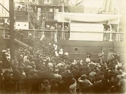 Expedition Militaire Madagascar Départ Des Troupes Marseille Ancienne Photo 1895 - Photographs
