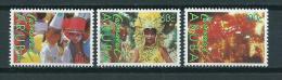 1989 Aruba Complete Set Carnaval MNH,Postfris,Neuf Sans Charniere - Curaçao, Antilles Neérlandaises, Aruba