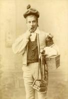 Acteur De Theatre A Levy Paris France Ancienne CC Photo Pirou Dedicace 1889 - Photographs