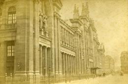 France Paris Gare Du Nord Ancienne Photo Carte Cabinet Debitte & Hervé 1875