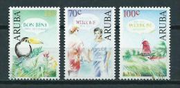 1991 Aruba Complete Set Welcome,greetings MNH,Postfris,Neuf Sans Charniere - Curaçao, Nederlandse Antillen, Aruba
