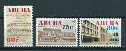 1992 Aruba Complete Set Postal Service Centenary MNH,Postfris,Neuf Sans Charniere - Curaçao, Antilles Neérlandaises, Aruba