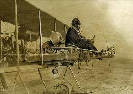 France Aviation Chalons Aerocible Michelin Lieutenant Maillefert Ancienne Photo Rol 1912 - Photos