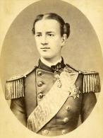 France Paris Roi Georges Ier De Grèce Ancienne Photo Jacotin 1865 - Photos