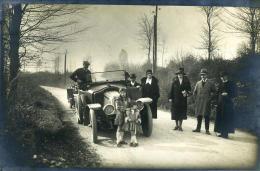 France Un Dimanche En Voiture A St Romain Du Colbosc 76430 Ancienne Photo 1925 - Photographs