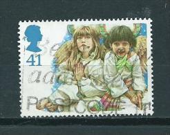 1994 England 41p. Kerst,noël,christmas,weihnachten Used/gebruikt/oblitere - Gebruikt