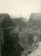 Paris Rue De Kabylie WWI Raid Aerien Par Avions Gotha Ancienne Photo Branger 1918 - War, Military