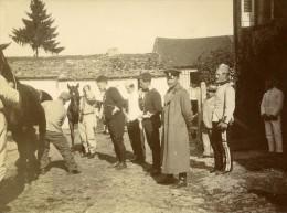 France Savigny Sur Orge Manoeuvres Militaires Revue Des Chevaux Ancienne Photo 1913 - War, Military
