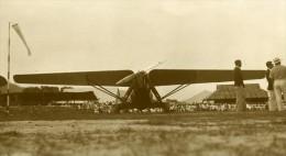 Malaysie Avion Meeting Aerien Monoplan Hangar Aerodrome Ancienne Photo 1935 - Aviation