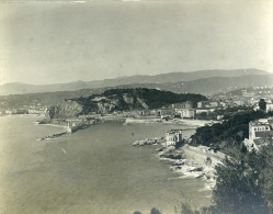 France Nice Panorama Vue Generale Ancienne Photo Amateur 1904 - Photographs