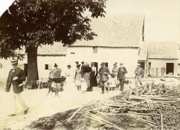 France Villers Cotterets Départ Pour La Chasse Ancienne Photo Amateur 1900 - Photographs
