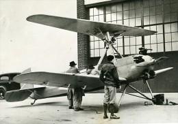 USA Aviation Avion Vertiplane De Gerard P Herrick Autogyre Ancienne Photo De Presse 1936 - Aviation