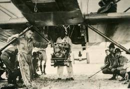 USA Aviation Militaire US Army Chargement D Une Mitrailleuse Ancienne Photo De Presse 1931 - Aviation