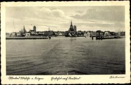 Cp Ostseebad Altefähr Insel Rügen, Einfahrt Nach Stralsund, Fährschiffe - Other