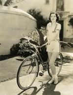 Margaret McConnell Fervente Adepte De La Bicyclette MGM Photo 1932 - Famous People