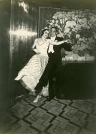 Paquebot Ile De France Dance Ramon Novarro & Rosita Ritchie Ancienne Photo 1931