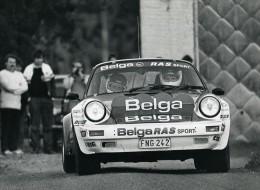 Porsche Belga Team RAS Sport STREE Reginster Biar Ancienne Photo 1985 - Automobiles