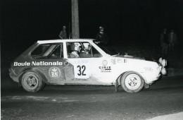 Belgique Ypres Voiture Rallye Course Fiat Ritmo 75 Plas Nijs Ancienne Photo Vanderhaegen 1981 - Automobiles